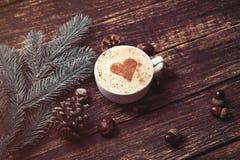 Tasse de café et de brench Images stock