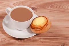 Tasse de café et de gâteau. Photographie stock libre de droits