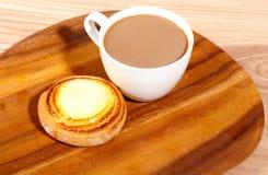 Tasse de café et de gâteau. Image stock