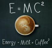 Tasse de café et de formule image libre de droits