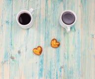 Tasse de café et stéthoscope, amour Photographie stock libre de droits