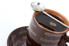 Tasse de café express photographie stock libre de droits