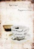 Tasse de café grunge Photographie stock