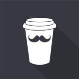 Tasse de café jetable Graphisme de vecteur Illustration Libre de Droits