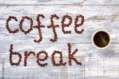 Tasse de café, pause-café images libres de droits