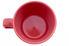 Tasse de café rouge Photo libre de droits
