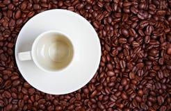 Tasse de café vide photos stock