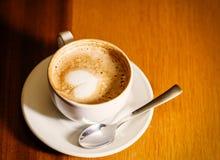 Tasse de cappuccino Image stock