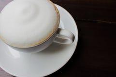 Tasse de cappuccino Photo stock