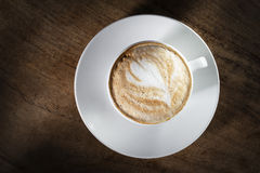 Tasse de cappuccino Photo stock