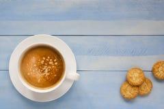 Tasse de cappuccino Photos stock