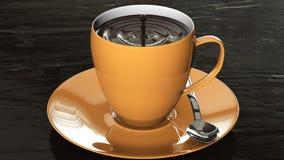 Tasse de chocolat photographie stock