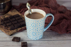 tasse de chocolat chaud stock photos royalty free images. Black Bedroom Furniture Sets. Home Design Ideas