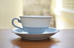 Tasse de coffe sur la table Image stock
