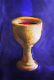 Tasse de communion Photos libres de droits