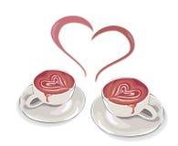 tasse de couples Image stock