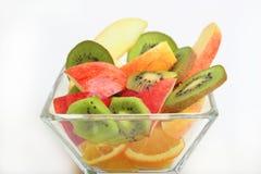 Tasse de fruit mélangé Photo stock