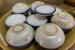 Tasse de gelée Photographie stock