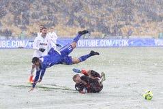 Tasse de l'Ukraine : FC Dynamo Kyiv v Zorya Luhansk images stock
