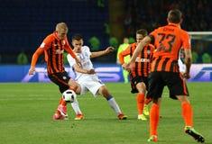Tasse de la finale de l'Ukraine Dynamo Kyiv de Shakhtar v Photographie stock