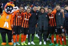 Tasse de la finale de l'Ukraine Dynamo Kyiv de Shakhtar v Photo libre de droits