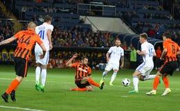 Tasse de la finale de l'Ukraine Dynamo Kyiv de Shakhtar v Photo stock