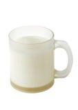 tasse de lait Photos libres de droits