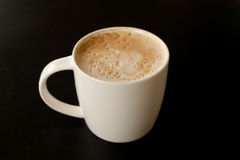 Tasse de latte Photos stock