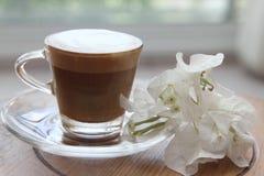Tasse de matin de café Photo libre de droits