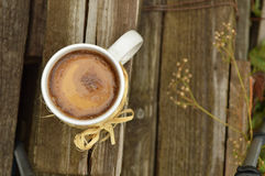 Tasse de matin de café Image stock