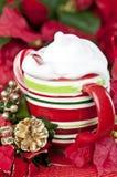 Tasse de Noël Photos libres de droits