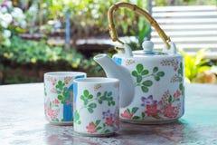Tasse de porcelaine Image libre de droits