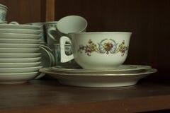 Tasse de porcelaine de thé Images libres de droits