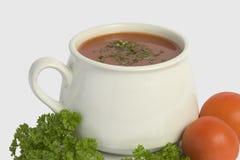 Tasse de potage Photographie stock