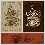 Tasse de temps de café illustration de vecteur