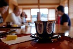 Tasse de thé à la cérémonie de thé Images libres de droits