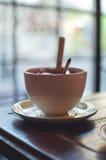 Tasse de thé de fruit Photo stock