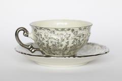 Tasse de thé de porcelaine photographie stock