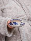 Tasse de thé de vintage Photographie stock