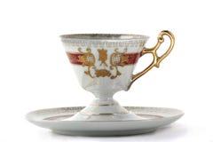 Tasse de thé et soucoupe image libre de droits
