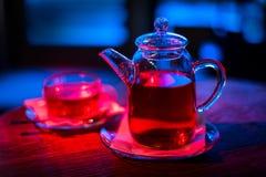 Tasse de thé et de théière photos stock