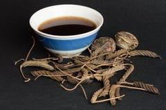 Tasse de thé exotique Photo stock