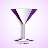 Tasse de vin de papier -  Photographie stock