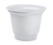 Tasse en plastique Photo stock