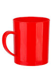Tasse en plastique Photo libre de droits