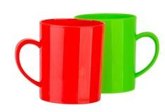 Tasse en plastique Image stock
