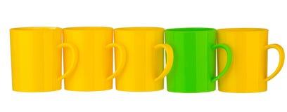 Tasse en plastique Photos libres de droits