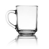 Tasse en verre Photo stock