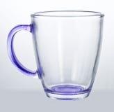 Tasse en verre vide images libres de droits