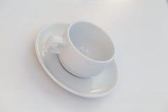 Tasse et soucoupe de café Images stock